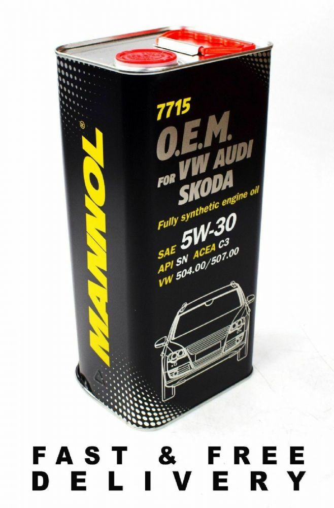 5L 5W30 504.00 / 507.00 AUDI VW QUANTUM SPEC LONGLIFE FULLY SYNTHETIC ENGINE OIL